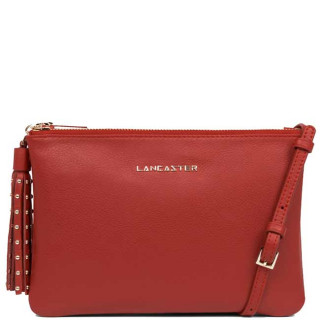Lancaster Mademoiselle Ana Bag Pocket 573-50 Red