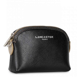 Lancaster Saffiano Timeless Wallet 121-25 Black Vison Champagne