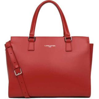 Lancaster Constance Handbag Worn 437-04 Red