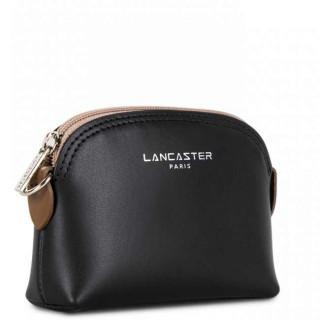 Lancaster Constance Porte Monnaie 137-01 Noir Nude Vison