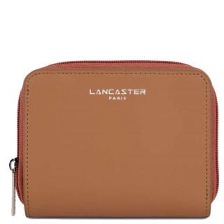 Lancaster Constance Portefeuille 137-17 Camel Potimarron Vison