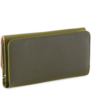Mywalit Compagnon Dos A Dos Cuir Nappa Olive