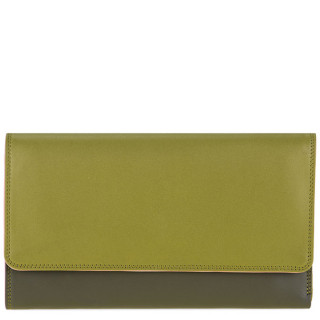 Mywalit Compagnon Porte Chequier Cuir Nappa Olive