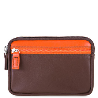 Mywalit Porte Monnaie Double Zip Cacao