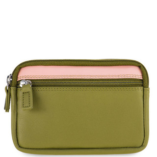 Mywalit Porte Monnaie Double Zip Olive