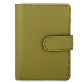 Mywalit Portefeuille Snap Medium Cuir Olive