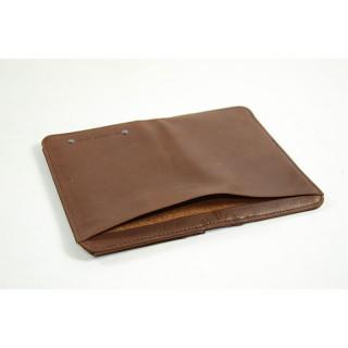 Jean Louis Fourès Baroudeur Wallet Round edges F9222 Cognac
