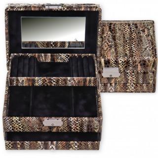 Sacher boîte à bijoux Carola Python