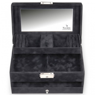 Sacher Hanna Noir jewelry box