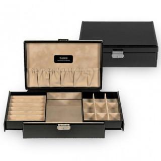 Sacher Boîte à Bijoux New Classic Noire