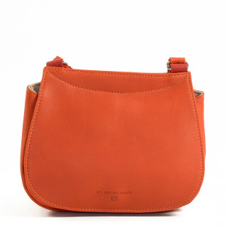 JL Fourès Baroudeuse Crossbody Bag Medium B309 Orange
