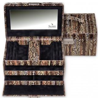 Sacher boîte à bijoux Eva Python