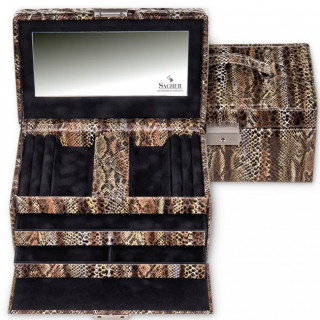 Sacher Eva Python jewelry box