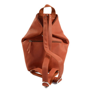 Jean Louis Fourès Baroudeuse Pliable B418 Brick Backpack