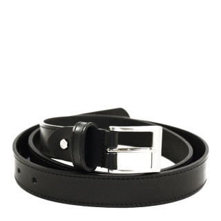 JL Fourès Baroudeur Leather Belt Male F50311 Black