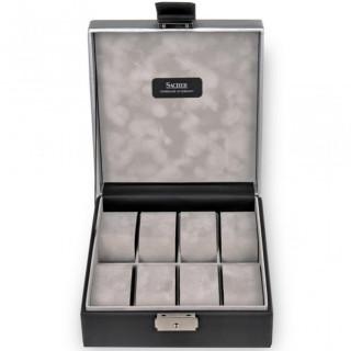 Sacher Boîte à montres Carvon Noire