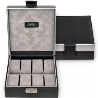 Sacher Black Carvon Watch Box