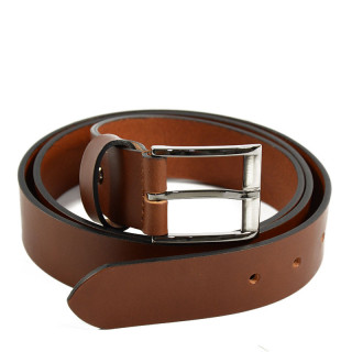 Jean Louis Fourès Male Leather Belt F50561 Cognac
