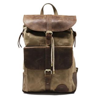 Daytona73 D73 Backpack Look Vintage Dark Cognac / Beige