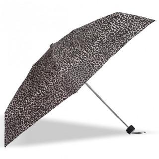 Isotoner Umbrella Women Mini-Pliant X-TRA Sec Manuel Giraffe