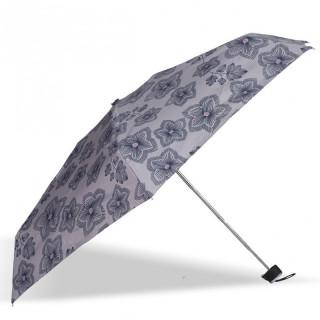 Isotoner Umbrella Women Mini-Pliant X-TRA Dry Manuel Origami Flowers