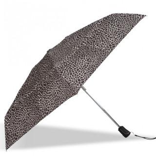 Isotoner Umbrella Women Mini-Pliant X-TRA Sec Automatic Giraffe