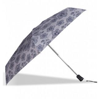 Isotoner Parapluie Femme Mini-Pliant X-TRA Sec Automatique Fleurs Origami
