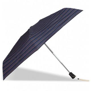 Isotoner Parapluie Femme Mini-Pliant X-TRA Sec Automatique Rayure Caravelle