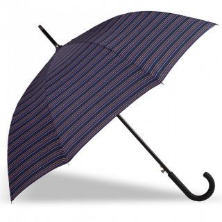Isotoner Parapluie Femme Canne X-TRA Sec Automatique Rayure Caravelle