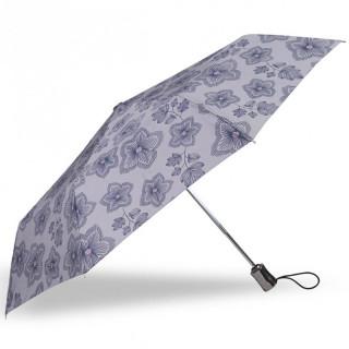Isotoner Umbrella X-TRA Solid Automatic Flowers Origami