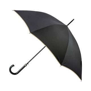 Parapluie Droit Automatique Piganiol Essentiel Noir Beige