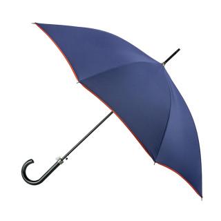 Parapluie Droit Automatique Piganiol Essentiel Indigo Orange