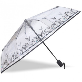 Isotoner Umbrella Women's AutomaticPliant PVC / Dove