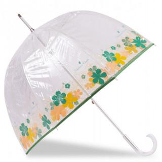 Isotoner Parapluie Femme Canne Manuel PVC / Fleur Japonaise