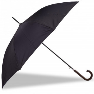 Isotoner Parapluie Femme Poignée Pliant Automatique Noir Nuage