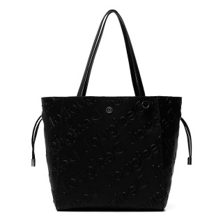 Desigual Norwich Sac Shopping 2 en 1 Negro