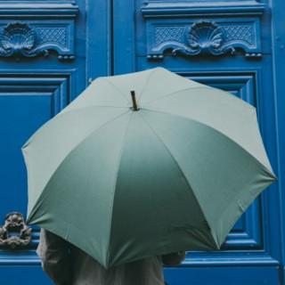 Piganiol Umbrella Men L'Aurillac Tradition Green