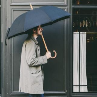 Piganiol Parapluie Homme L'Aurillac Tradition Noir