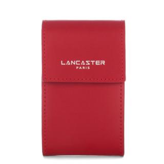 Lancaster Constance Porte Monnaie Porte Clés 137-09 Red