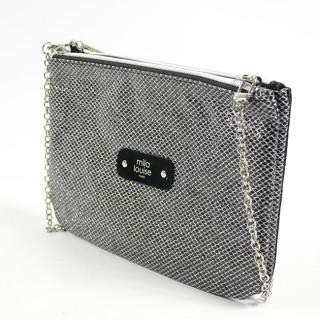 Mila Louise Natasha Honey Bag and Black Pocket