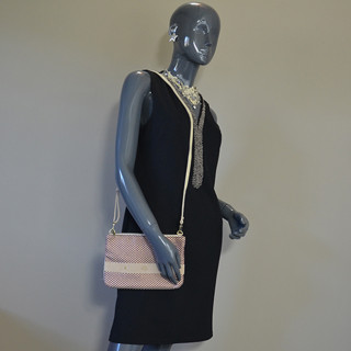 Mila Louise Nina Rond Bordeaux Bag and Pocket