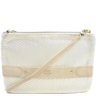 Mila Louise Nina Rond Beige Bag and Pocket