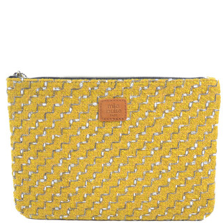 Mila Louise Poch Step GM Yellow Bag Kit and Cosmetic