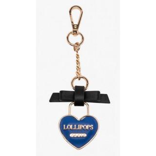 Lollipops Gring Porte-clé Bleu Doré