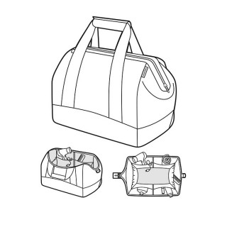 Reisenthel Travel Allrounder L Black Multifunctional Travel Bag
