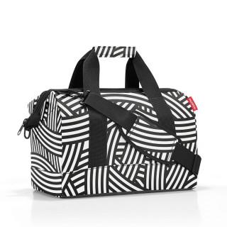 Reisenthel Travel Allrounder M Sac de Voyage Multifonctionnel Zebra
