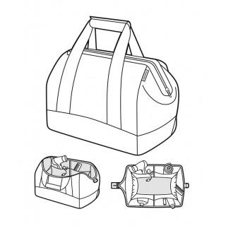 Reisenthel Travel Allrounder M Black Multifunctional Travel Bag