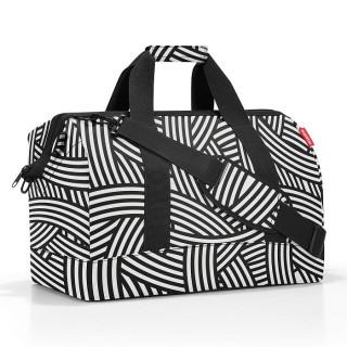 Reisenthel Travel Allrounder L Sac de Voyage Multifonctionnel Zebra