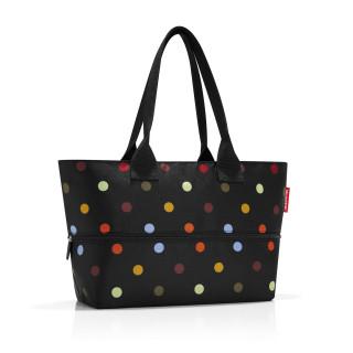 Reisenthel Shopper Extensible Porté Epaule Dots