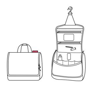 Reisenthel Cosmetic Toiletbag Black Toilet Kit